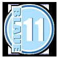 Blaue Elf Logo